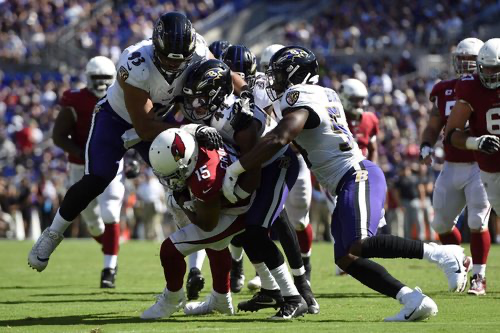 Defense Notes : Ravens vs Cardinals
