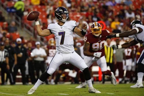 Offensive Line Notes Preseason Week 4 : Ravens vs Redskins