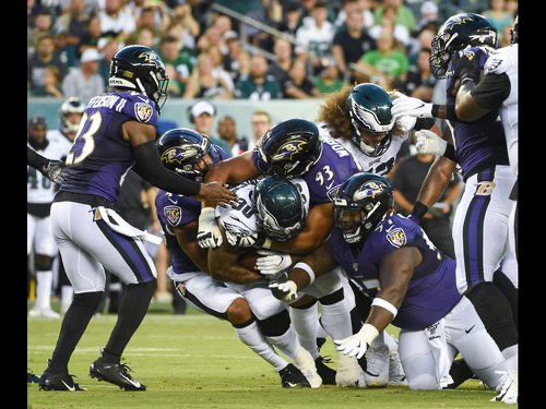 Defense Notes : Ravens @ Eagles Preseason Week 3