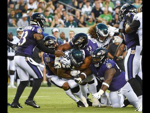 Defense Notes : Ravens @ Eagles Preseason Week 3