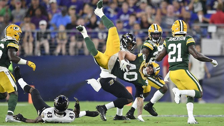 Defense Notes : Ravens vs Packers Preseason Week 2