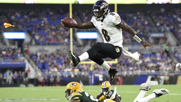 Offense Notes : Ravens vs Packers Preasons Week 2