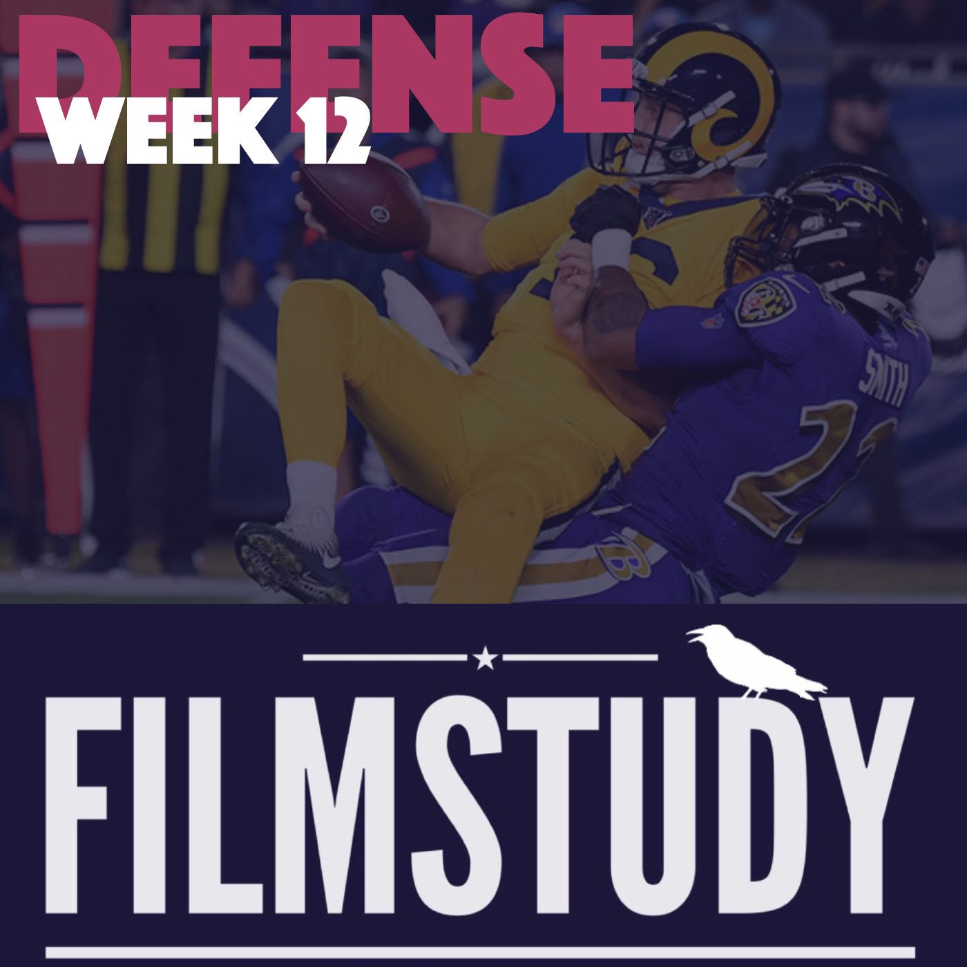 Defense Notes – Week 12 – Ravens @ Rams