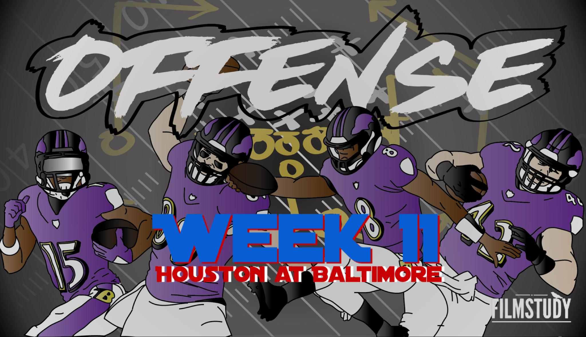 Offensive Line Scoring vs Texans 11/17/19