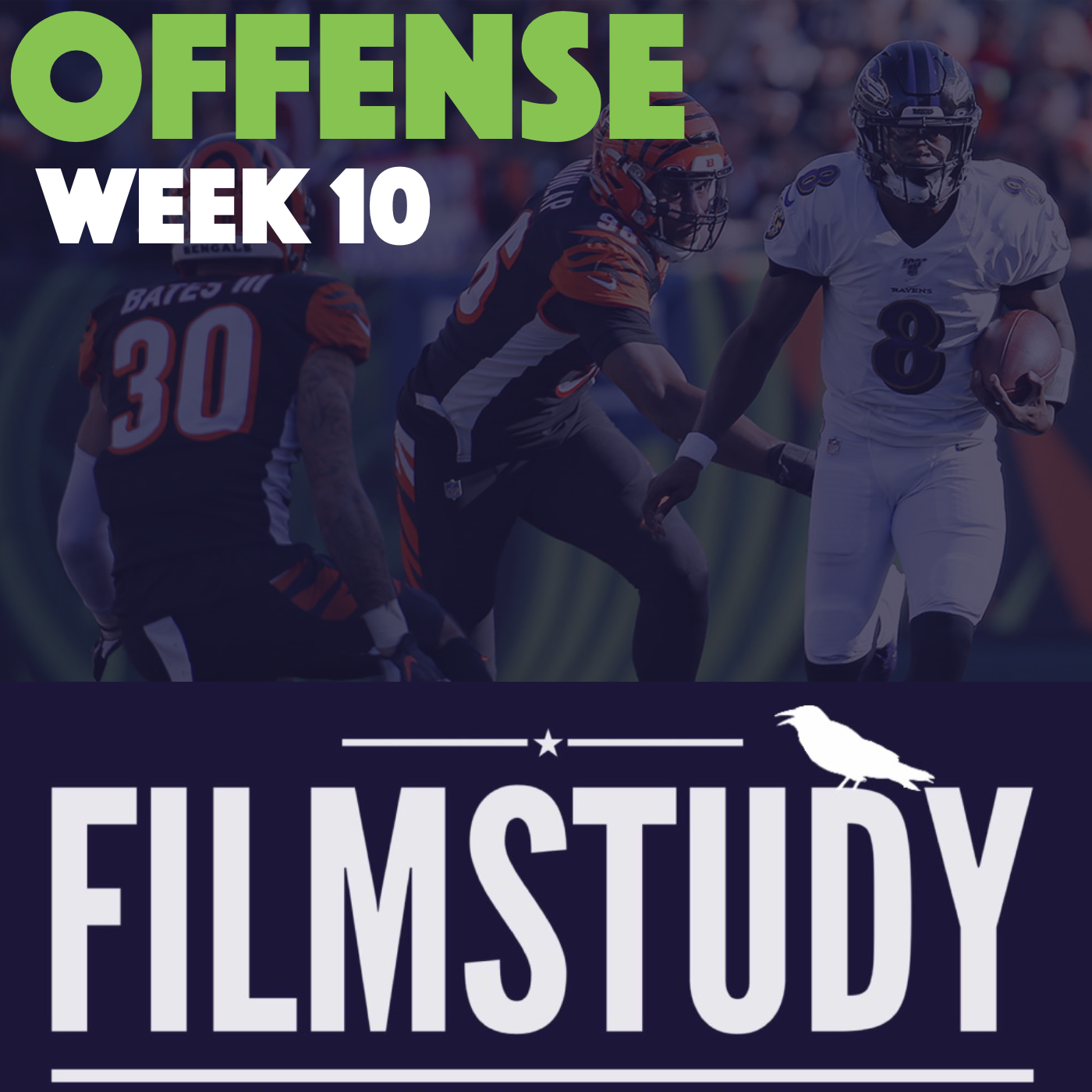 Offense Notes – Week 10 – Ravens @ Bengals
