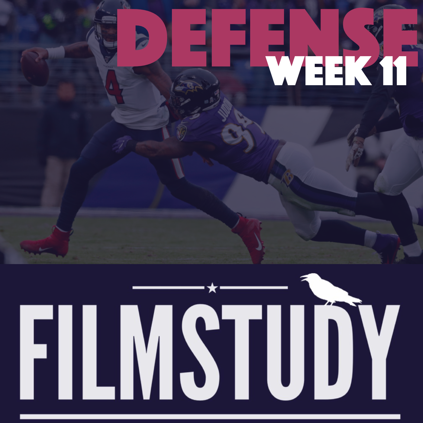 Defense Notes – Week 11 – Texans @ Ravens