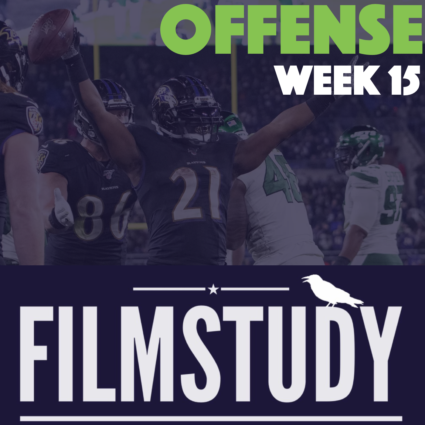 Offense Notes – Week 15 – Jets at Ravens