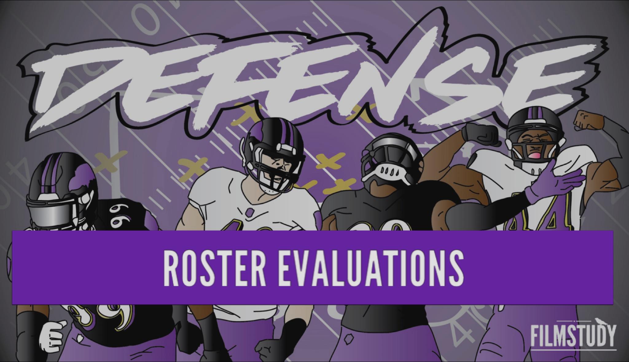 End Of Season Roster Evaluation-Defense 2019