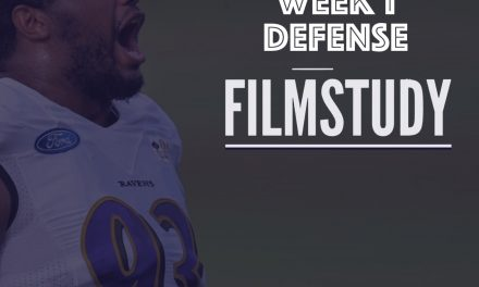Defense Notes : Week 1 Browns at Ravens