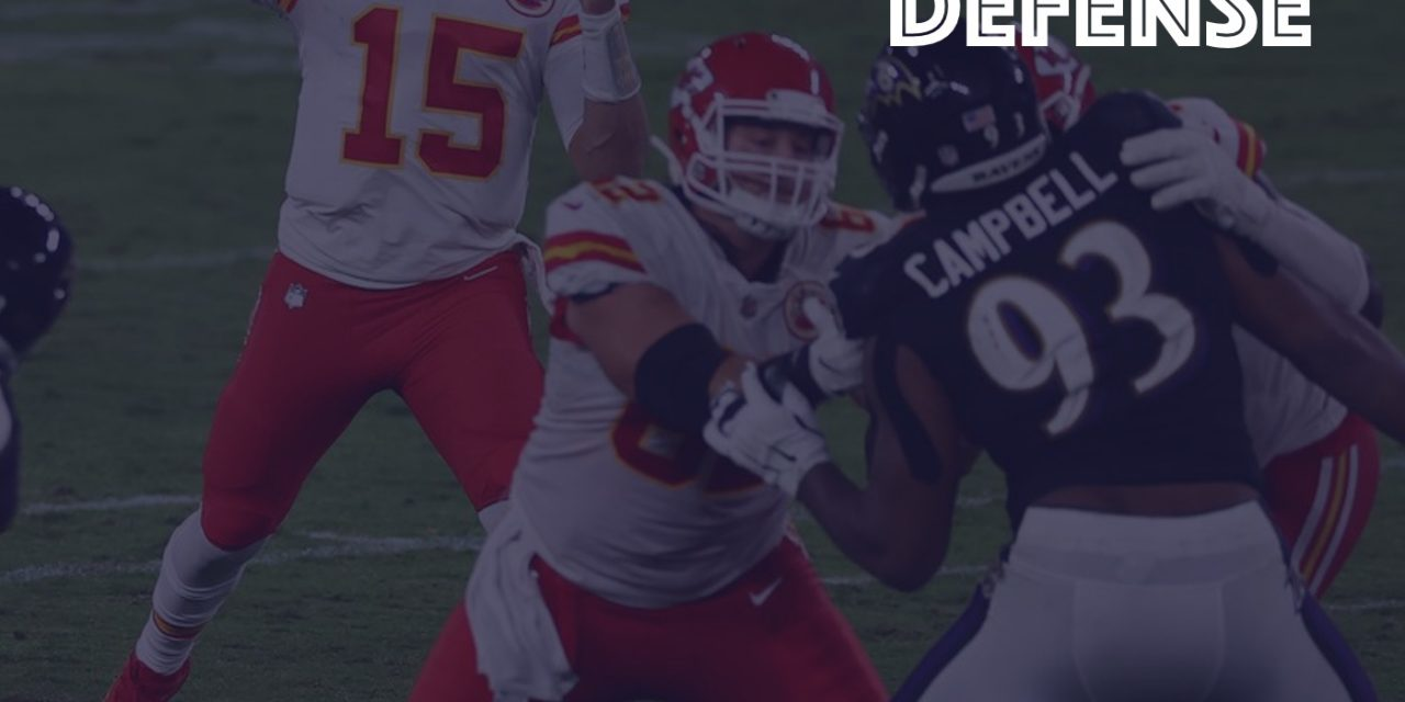 Defense Notes : Week 3 Chiefs at Ravens