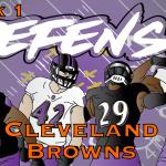 Defensive Notes Week 1 Cleveland Browns @ Baltimore Ravens