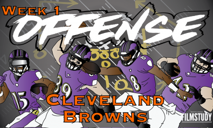 Offense Line Scoring Week 1 vs Browns