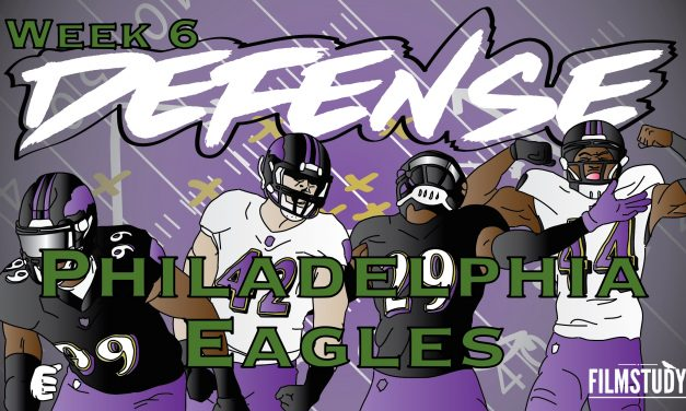 Defensive Notes Week 6 Baltimore Ravens @ PHILADELPHIA Eagles