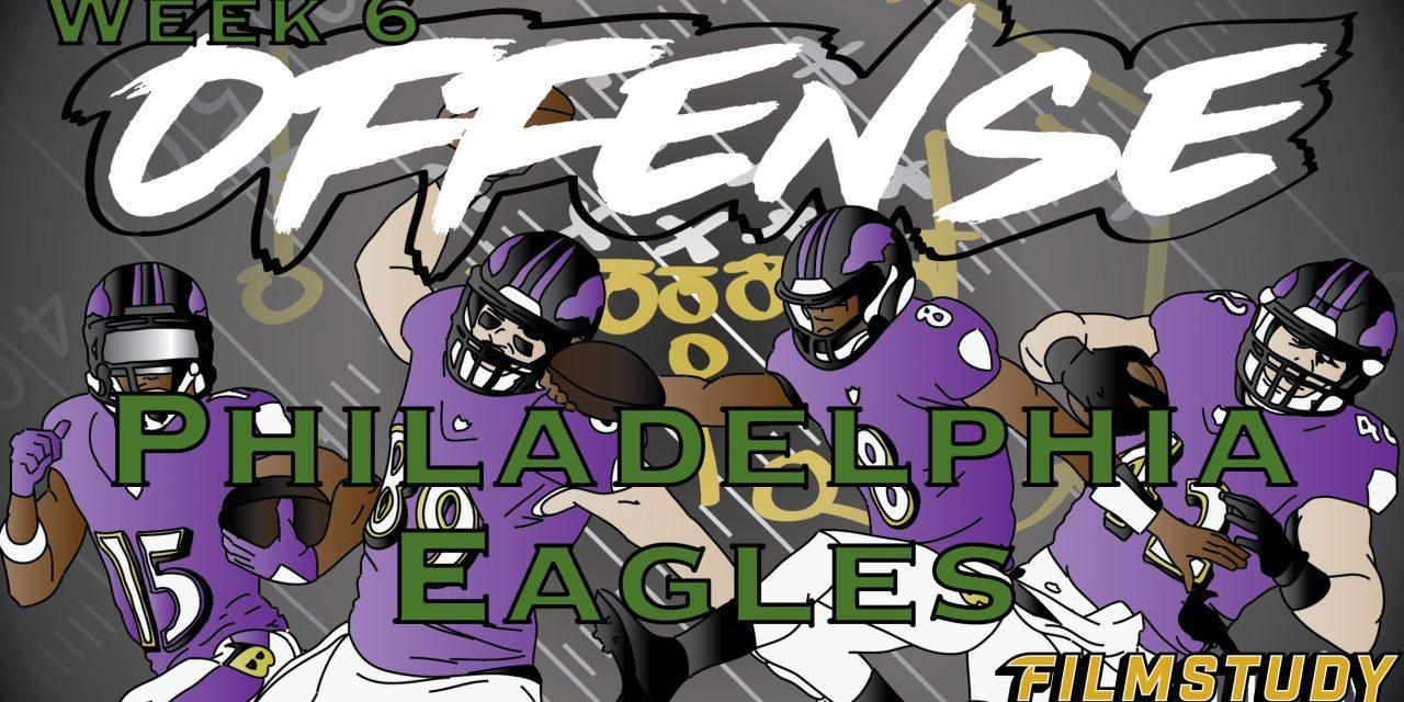 Offense Line Scoring Week 6 Baltimore Ravens @ Philadelphia Eagles