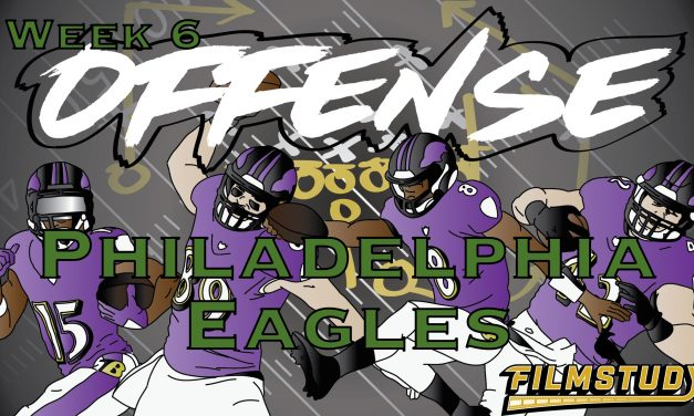 Offense Line Scoring Week 6 Baltimore Ravens @ Philadelphia Eagles
