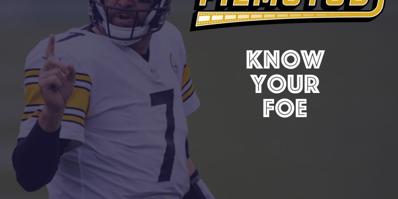 Know Your Foe : Steelers Week 8 2020