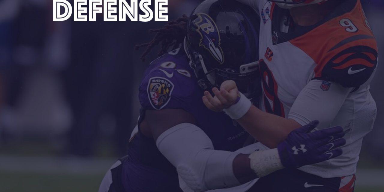Defensive Notes : Week 4 Bengals @ Ravens
