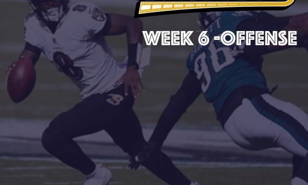 Offensive Notes : Week 6 Ravens @ Eagles