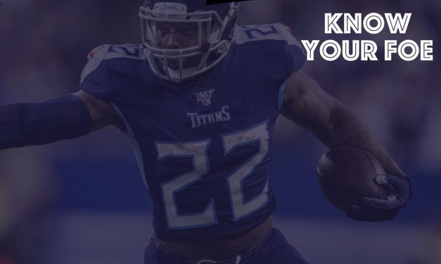 Know Your Foe : Week 11 : Tennessee Titans