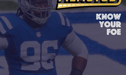 Know Your Foe – Week 10 : Colts – Fixed