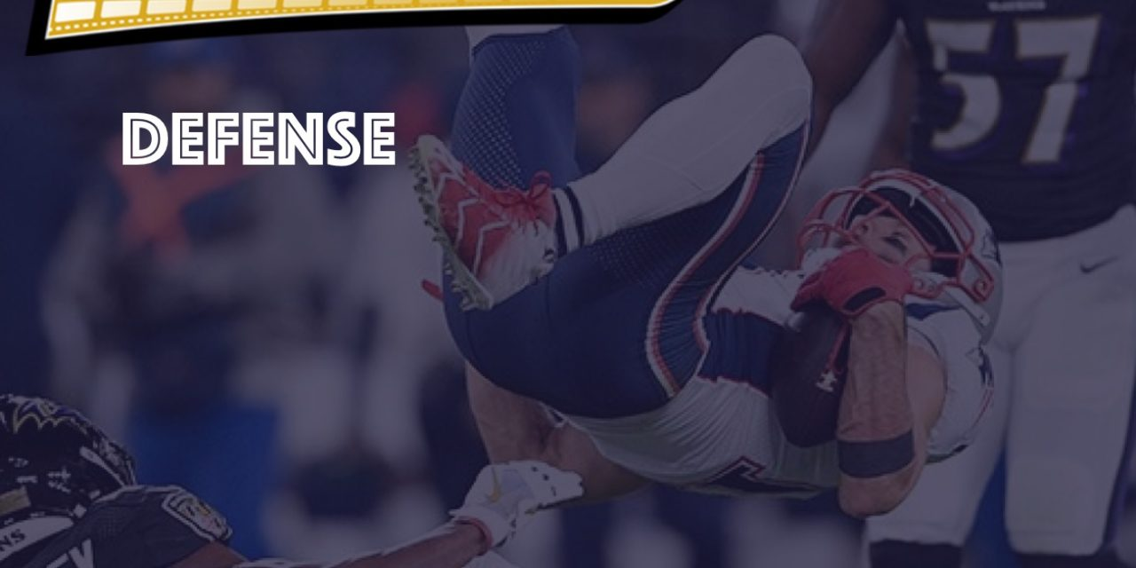 Defensive Notes : Week 10 Ravens @ Patriots