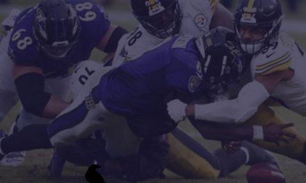 Offense Notes : Week 8 Steelers @ Ravens