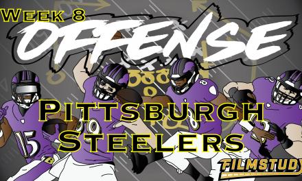Offense Line Scoring Week 8 Pittsburgh Steelers @ Baltimore Ravens