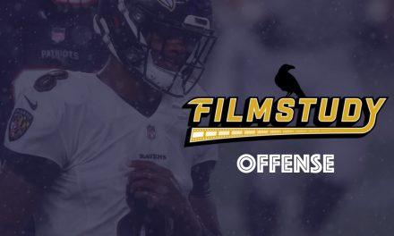 Offense Notes : Week 10 Ravens @ Patriots