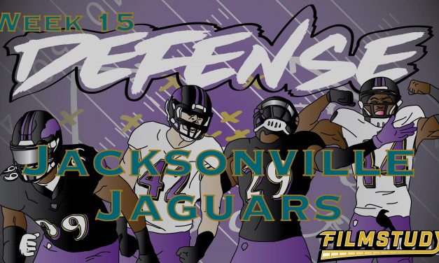 Defensive Notes Week 15 Jacksonville Jaguars @ Baltimore Ravens