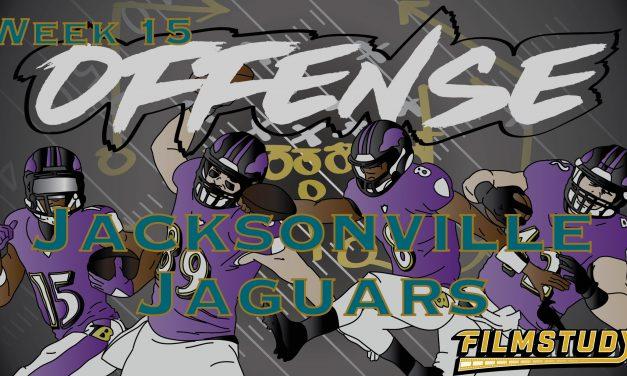 Offense Line Scoring Week 15 Jacksonville Jaguars @ Baltimore Ravens