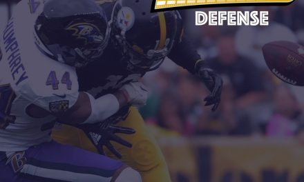 Defensive Notes : Week 12 (Finally) Ravens @ Steelers