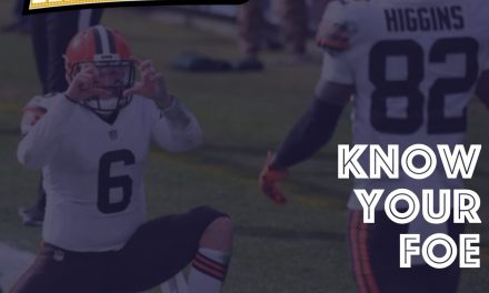 Know Your Foe Week 14 : Cleveland Browns