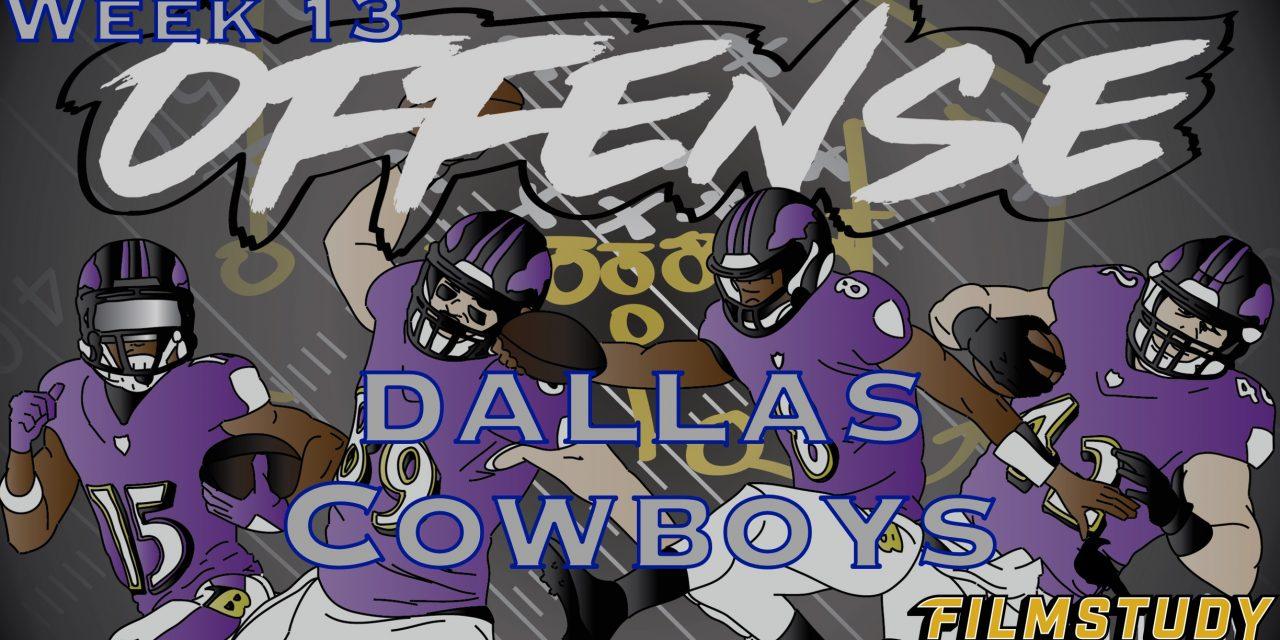Offense Line Scoring Week 13 Dallas Cowboys @ Baltimore Ravens