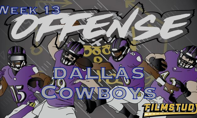 Offense Line Scoring Week 13 Dallas Cowboys @ Baltimore Ravens