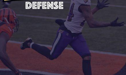 Defensive Notes : Week 17 Baltimore Ravens @ Cincinnati Bengals