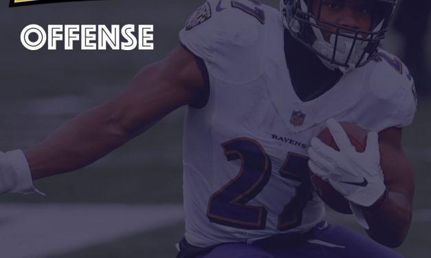 Offensive Notes Week 17 Baltimore Ravens @ Cincinnati Bengals