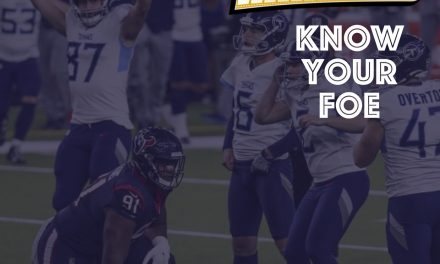 Know Your Foe – Playoff Titans