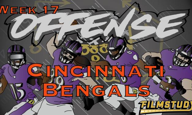Offense Line Scoring Week 17 Baltimore Ravens @ Cincinnati Bengals