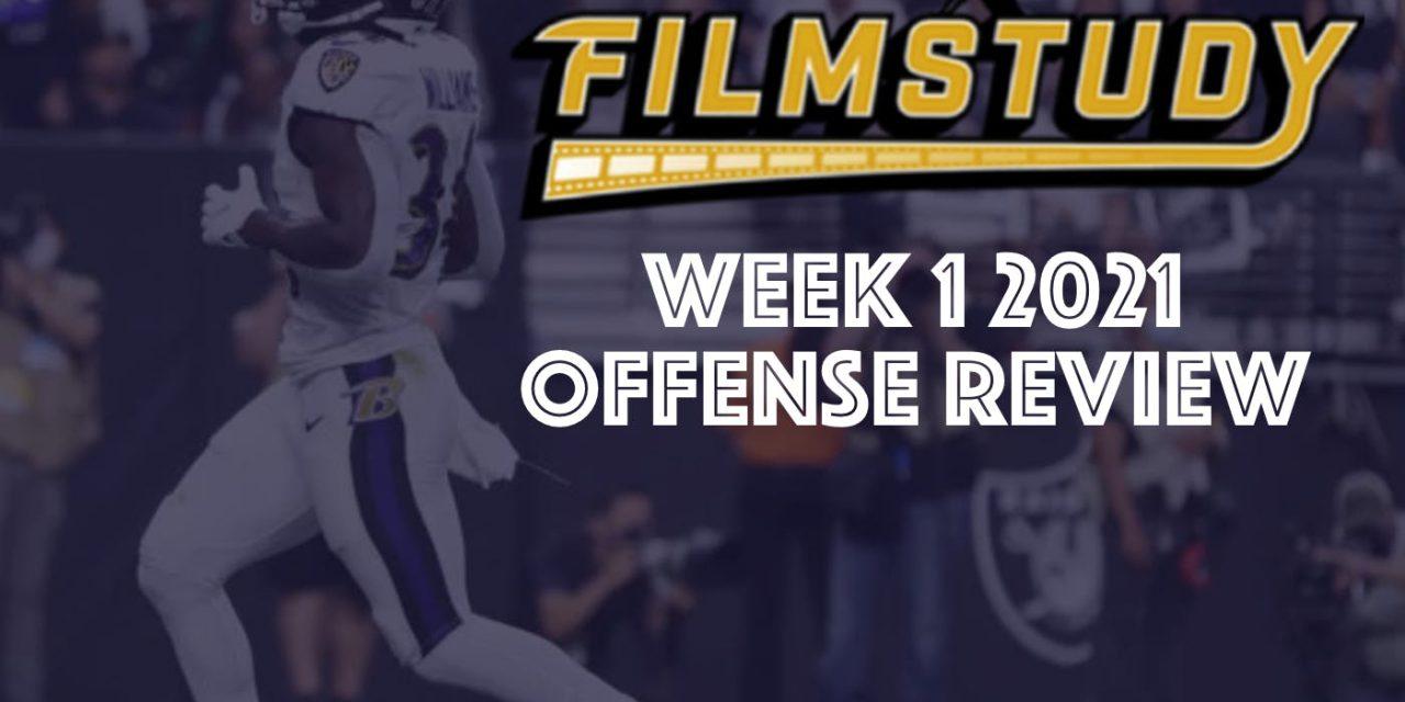 Offense Review – Week 1 – 2021