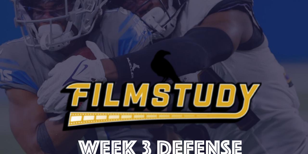 Defense Review – Week 3 – 2021