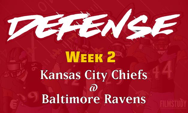 Defensive Notes Week 2 Chiefs @ Ravens