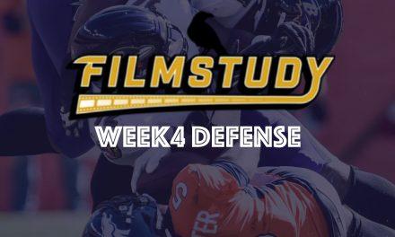 Defense Review : Week 4 – 2021