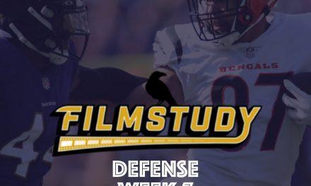 Defense Review : Week 7 – 2021