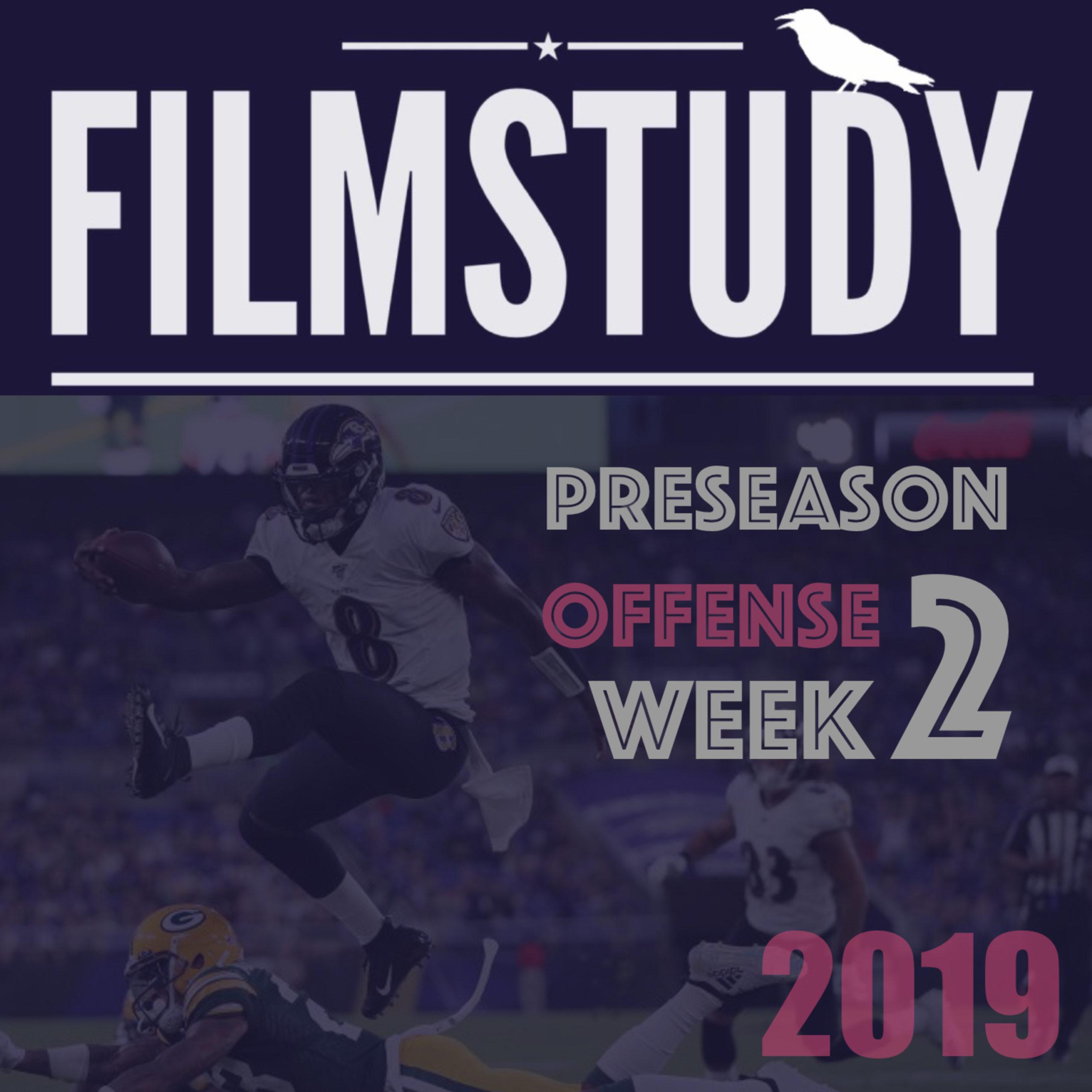 Offense : Preseason Week 2
