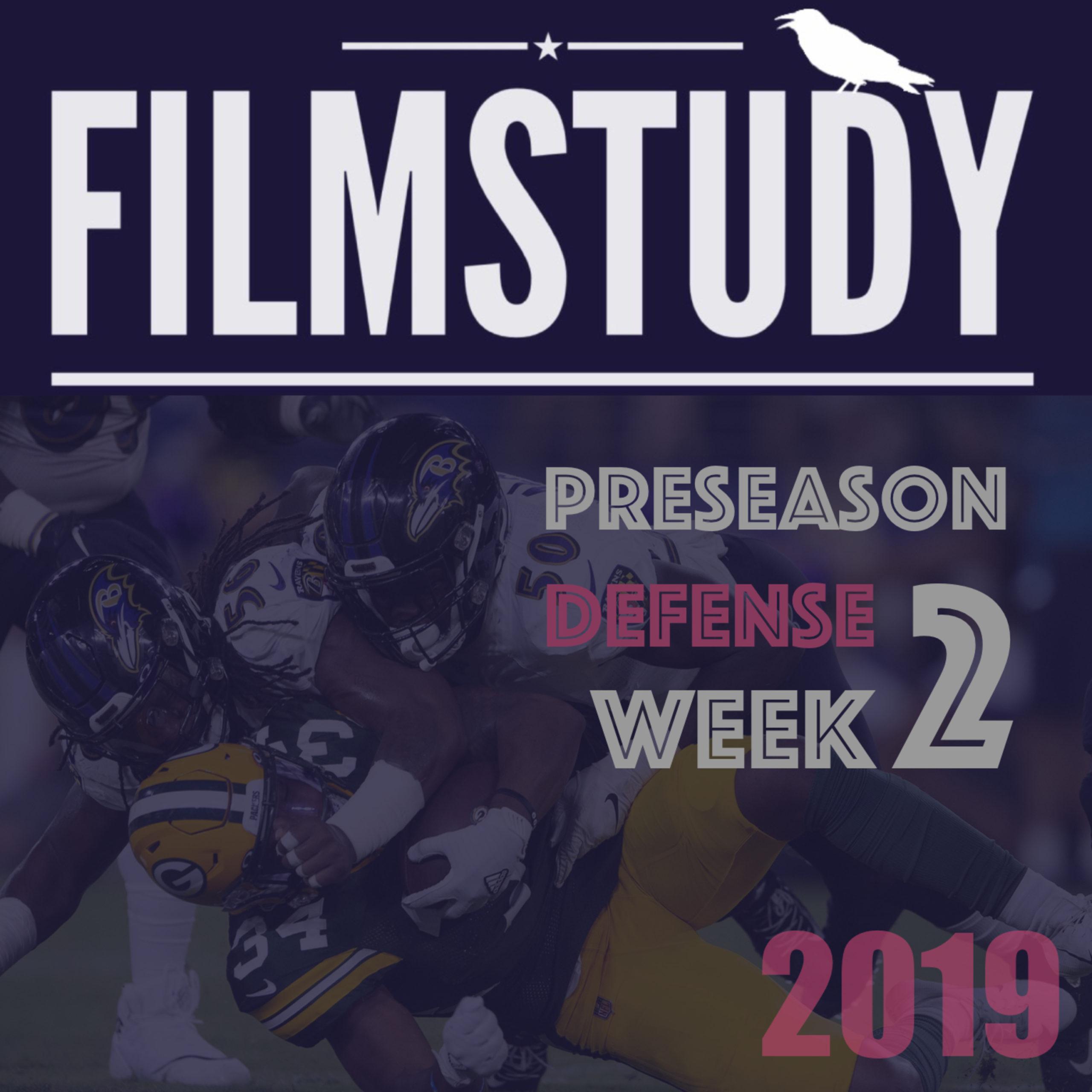 Defense : Preseason Week 2