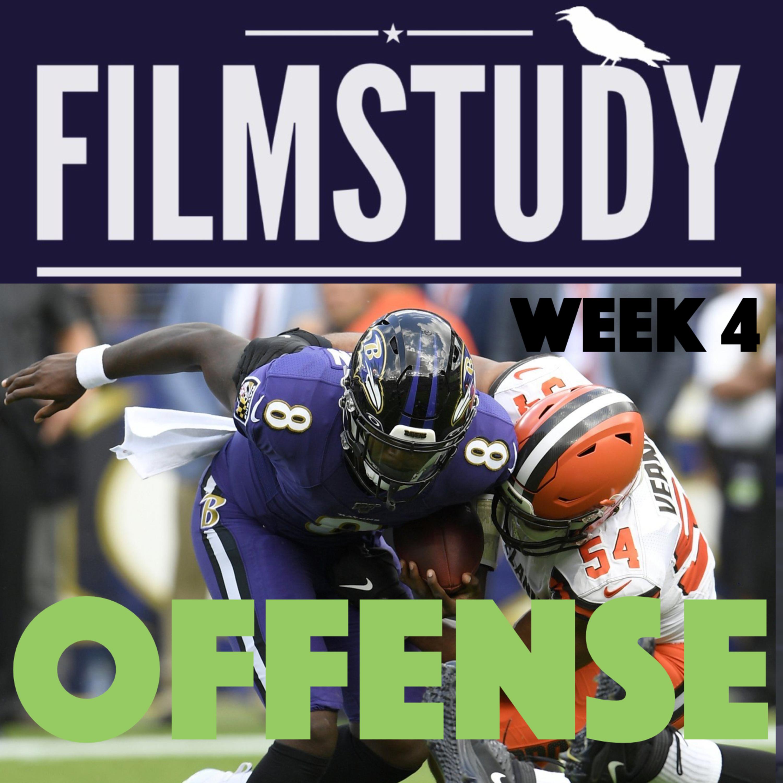 Offense Notes : Browns @ Raven Week 4