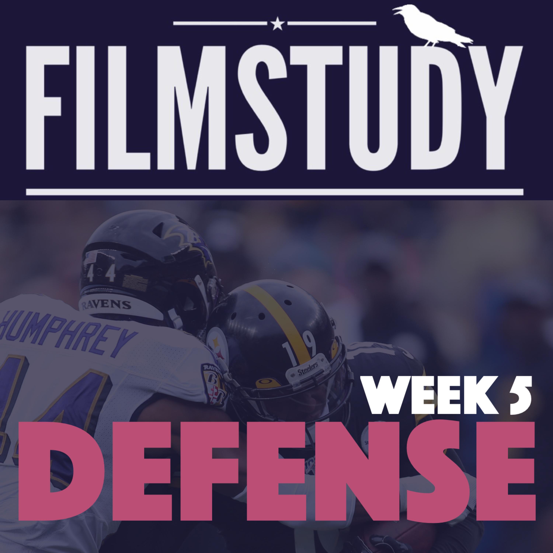 Defense Notes Week 5 : Ravens @ Steelers