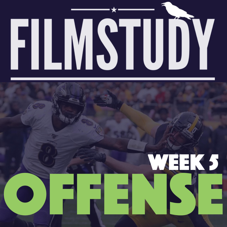 Offense Notes : Ravens @ Steelers Week 5