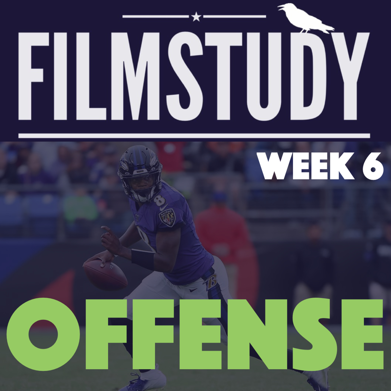 Offense Notes : Bengals @Ravens Week 6