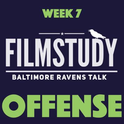 Offense Notes : Ravens @ Seahawks Week 7